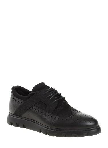 %100 Deri Oxford Ayakkabı-Greyder